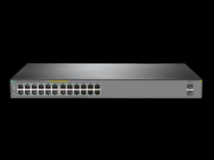 HP JL385A 1920S-24G 24PORT GIGABIT  24PORT POE SWITCH 2 SFP